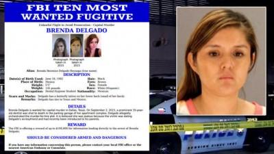 Brenda Delgado arrested mugshot