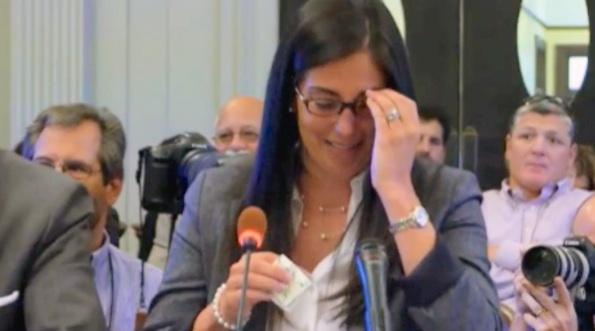 Bridgegate Aide Christina Renna BREAKS DOWN While Testifying