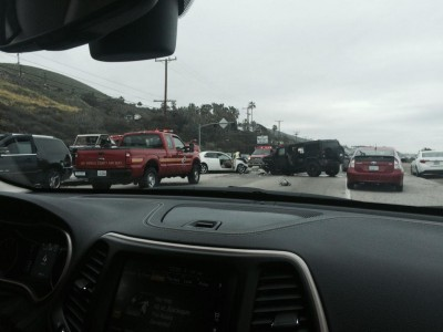 Bruce Jenner accident malibu