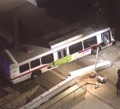 Bus Accident, Newport Beach building 1