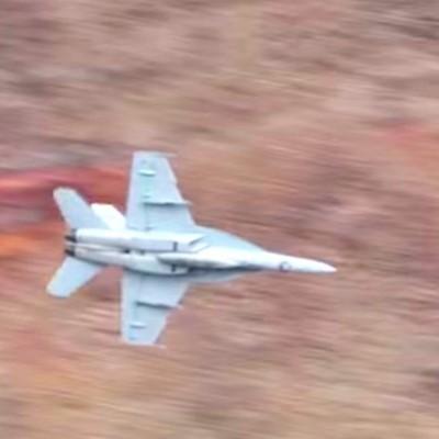 Buzzed by F-18s