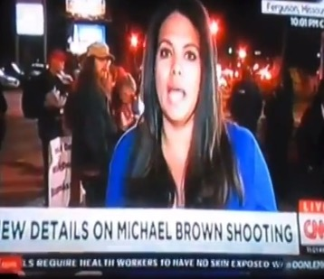 CNN Reporter Chased Off The Air By Ferguson Protesters