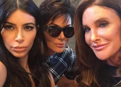 Caitlyn Jenner Kris Jenner meet in public
