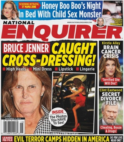 Caught Bruce Jenner Crossdressing