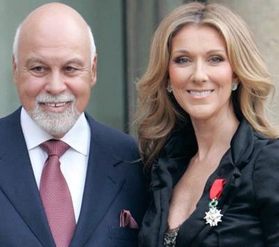 Celine Dion husband dies