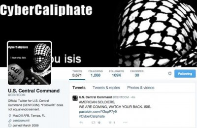 Central Command has been hacked by ISIS
