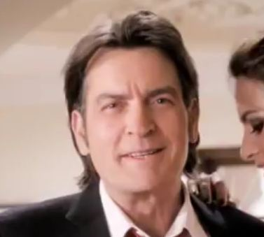 Charlie Sheen fiat Charlie Sheen New FIAT Car Commercial