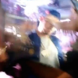 Chris Brown SHOVES Woman 3
