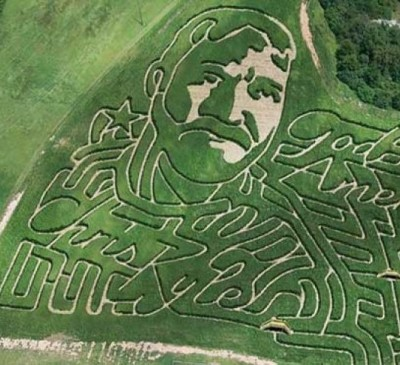 Chris Kyle corn maze