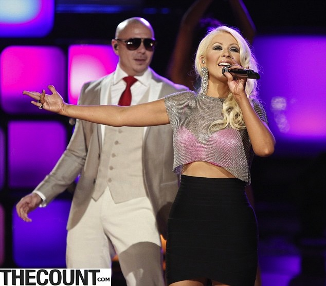 Christina Aguilera DRAMATIC Weight Loss - TheCount.com
