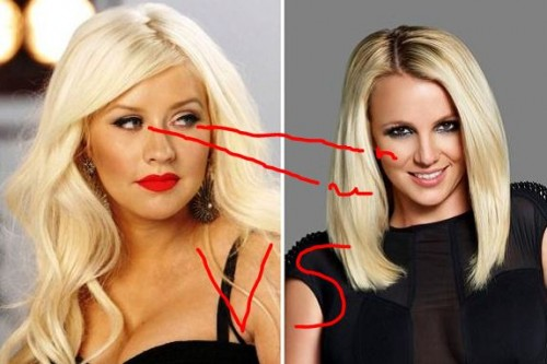 ChristinaBritvs 500x333 Hollywood News Minute: Britney and Christina Back At It Again! Snookis Baby Smokes?