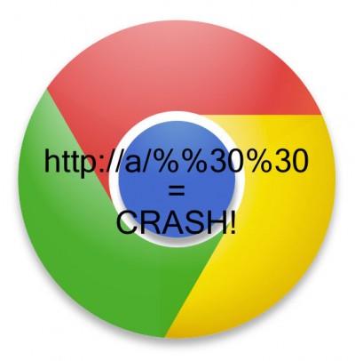 Chrome bug crash