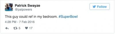 Clete Blakeman ref super bowl handsome tweets