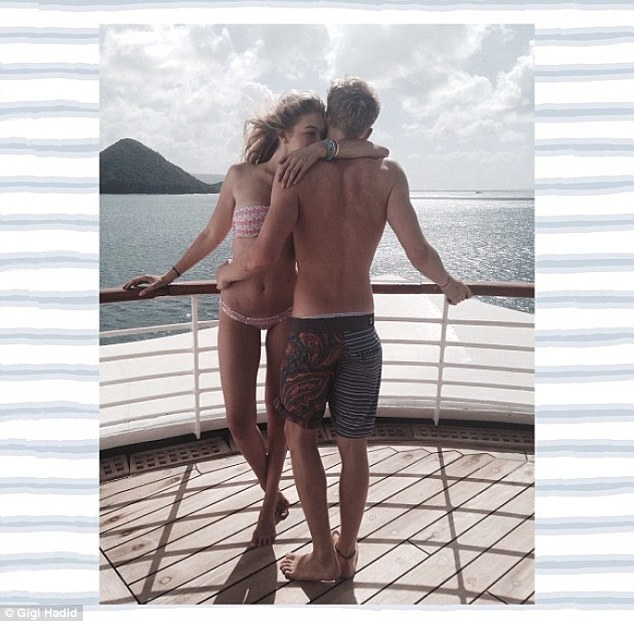Cody Simpson, 16, and Gigi Hadid