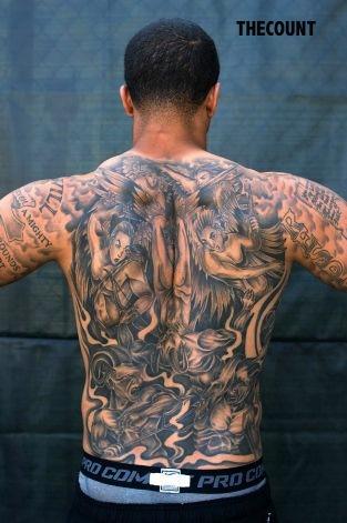 Colin Kaepernick tattoos 3