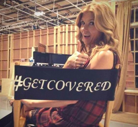 Connie Britton-get covered