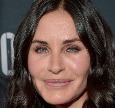 Courteney Cox puffy face