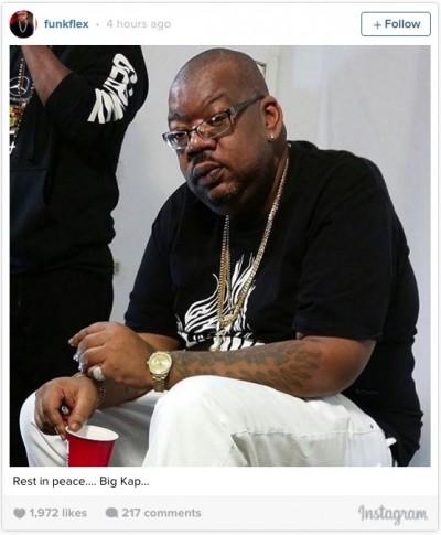 DJ Big Kap die