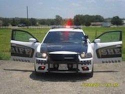 Dallas County sheriff cruiser