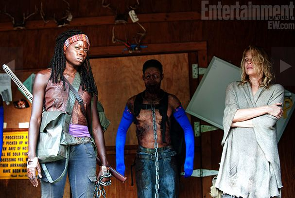 Danai-Gurira-and-Laurie-Holden-in-The-Walking-Dead-Season-3