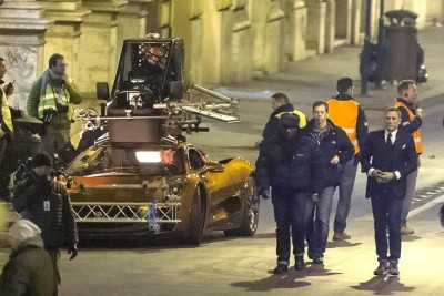 Daniel Craig Suffers Head Injury Filming Latest James Bond Flick 2
