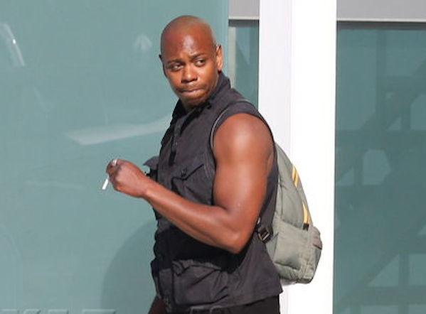Dave Chappelle leaving Live Nation looking buff