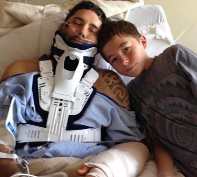 13 Year Old Hailed As Hero After Saving Dads Life