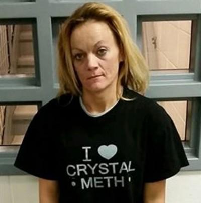 Deborah Delane Asher meth t shirt