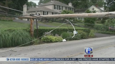 Delaware and Chester counties power outage