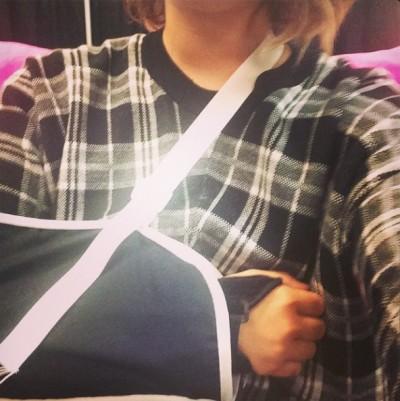 Demi Lovato cast arm 2