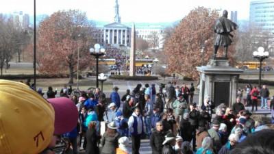 Denver Students Stage WALK OUT 4