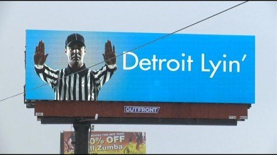 Detroit Lyin billboards