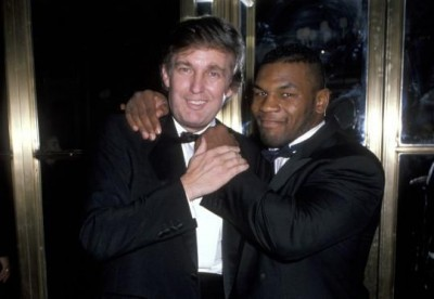 Donald Trump Mike Tyson