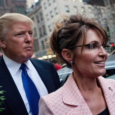 Donald Trump sarah palin VP
