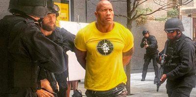 Dwayne Johnson arrested