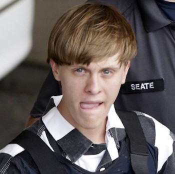 Dylann Roof shower