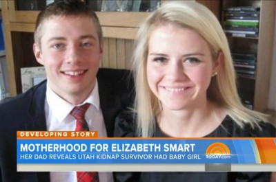 Elizabeth Smart baby 3 400x265 Remember Elizabeth Smart? Shes A NEW MOM! [VIDEO]