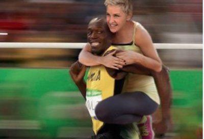 Ellen DeGeneres racist olympics meme