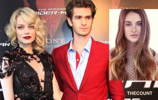 Emma Stone tweets bizarre post about Andrew Garfield and Shailene Woodley Did Emma Stone Accuse BF Andrew Garfield Of Cheating On Twitter?