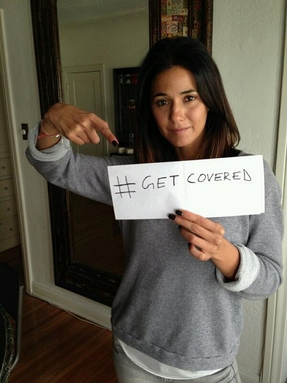 Emmanuelle Chriqui- get covered