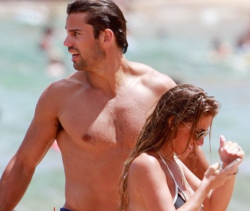 Eric Decker and his wife 2
