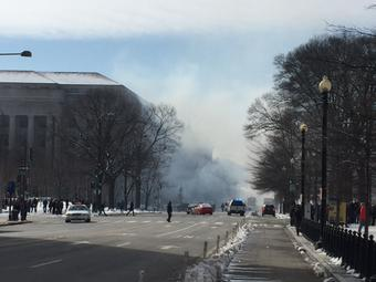 Explosion Fire Breaks Out At White House Lockdown Initiated 3