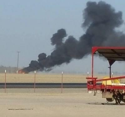 F:A-18 fighter jet crash fresno