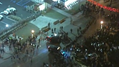 FERGUSON STANDOFF WITH NATIONAL GUARD LIVE FEED 4