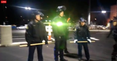 Ferguson Protesters TAUNTING Cops