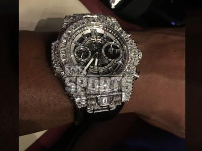 Floyd Mayweather Drops $10 million Diamond watch