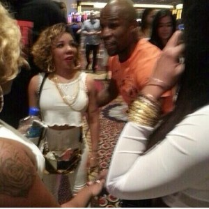 Floyd-Mayweather-jr-Tiny-t.i. fight fatburger