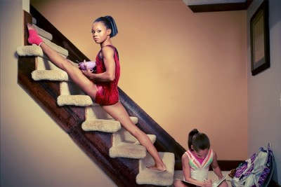 Gabby Douglas flexible