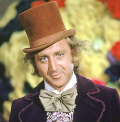 Gene Wilder Willy Wonka die 400x405 Gene Wilder TOP 10 All Time GREATEST Movies