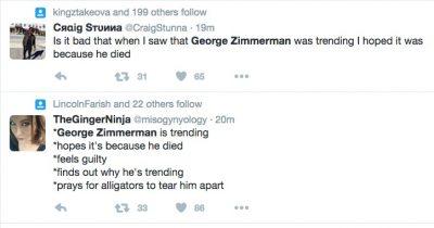 George Zimmerman gun trayvon martin death threats